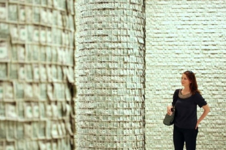 The Wall Of Money By Hans-Peter Feldmann