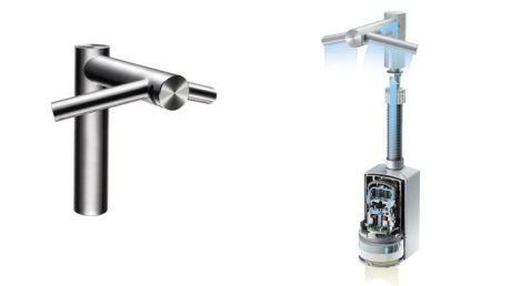 Dyson tap dryer combo