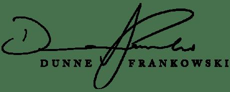 DunneFrankowski signature logo