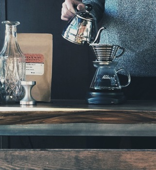 Filter, pour-over, brew bar