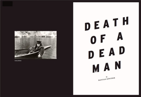 Bare issue 1 - Death of a dead man by Bastian Gunther