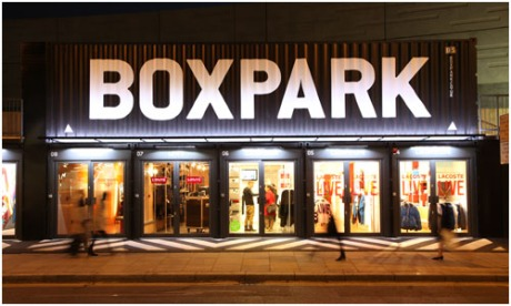 Boxpark Shoreditch London