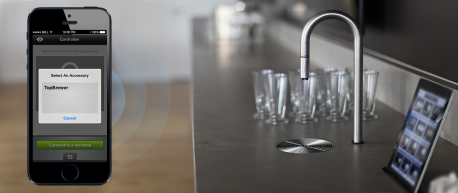 Coffee Faucet and iPhone Control