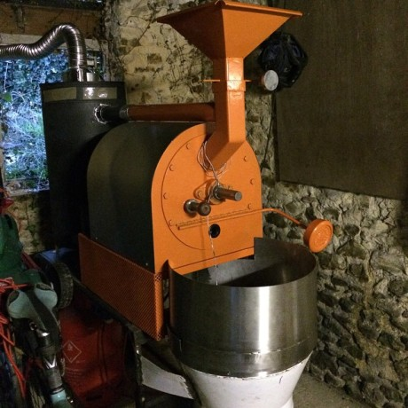 Devon Coffee Exeter - freshly roasted coffee | hand built roaster